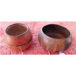 2 Mayan Vases