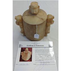 Teotihuacan Human Effigy Jar w/John Jordan COA
