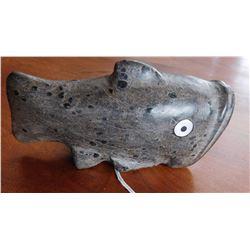 Chumash Fish w/Shell Inlay