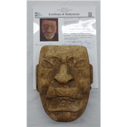 Olmec Jaguar Transformation Mask w/John Jordan COA