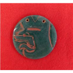 Olmec Jade Pendant