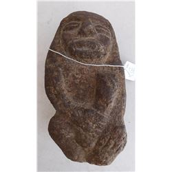 Maori Stone Figure