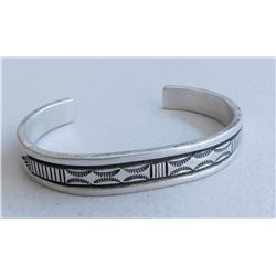 B. Morgan Sterling Silver Cuff