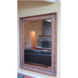 "REALLY REALLY LARGE Ornate Gilt Framed Mirror, 61""x 87"""
