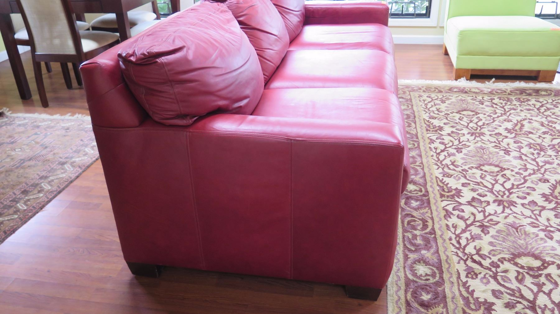Queen Sleeper Sofa Distressed Leather Merlo W Dark