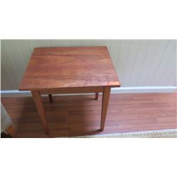 "Cherrywood Side Table - McKinnon ""Shaker"", W:24  D: 20  H:24"