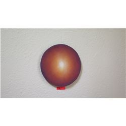 """Sun"" Painting by David Campbell Wilson, Circa 1999, 16"" Diameter"