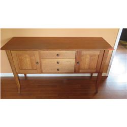 "Cherrywood Buffet - 2 Cupboard Spaces, 3 Drawers, Mckinnon ""Savannah"", W:60"" D:20"" H:34"""