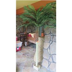 Faux Palm Tree (not including lauhala mats)