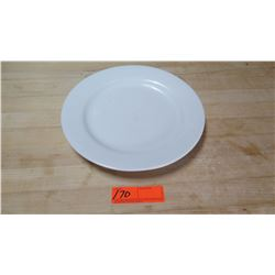 White Round Dinner Plates - Approx. 42