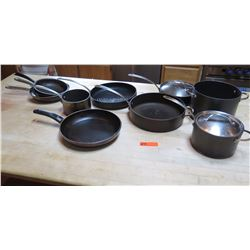 Qty Misc. Skillets, Pans and Pots - Various Sizes