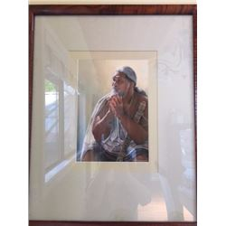 "Framed Print - ""Light"" by Kathy Long 17.5X21.5"