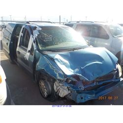 2001 - FORD WINDSTAR // SALVAGE