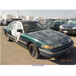 1993 - FORD CROWN VICTORIA // BONDED TITLE