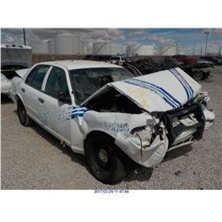 2002 - FORD CROWN VICTORIA // SALVAGE with TX Title