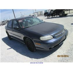 2000 - CHEVROLET MALIBU with TX Title