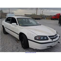 2002 - CHEVROLET IMPALA with TX Title