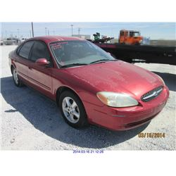 2001 - FORD TAURUS with TX Title