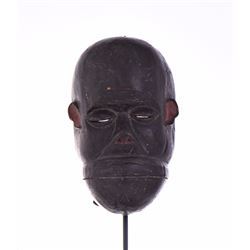 African Teke or Bateke Gorilla Wood Mask, Congo. H