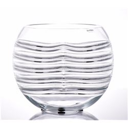 Alfredo Barbini Murano Glass Vase. Beautiful and u