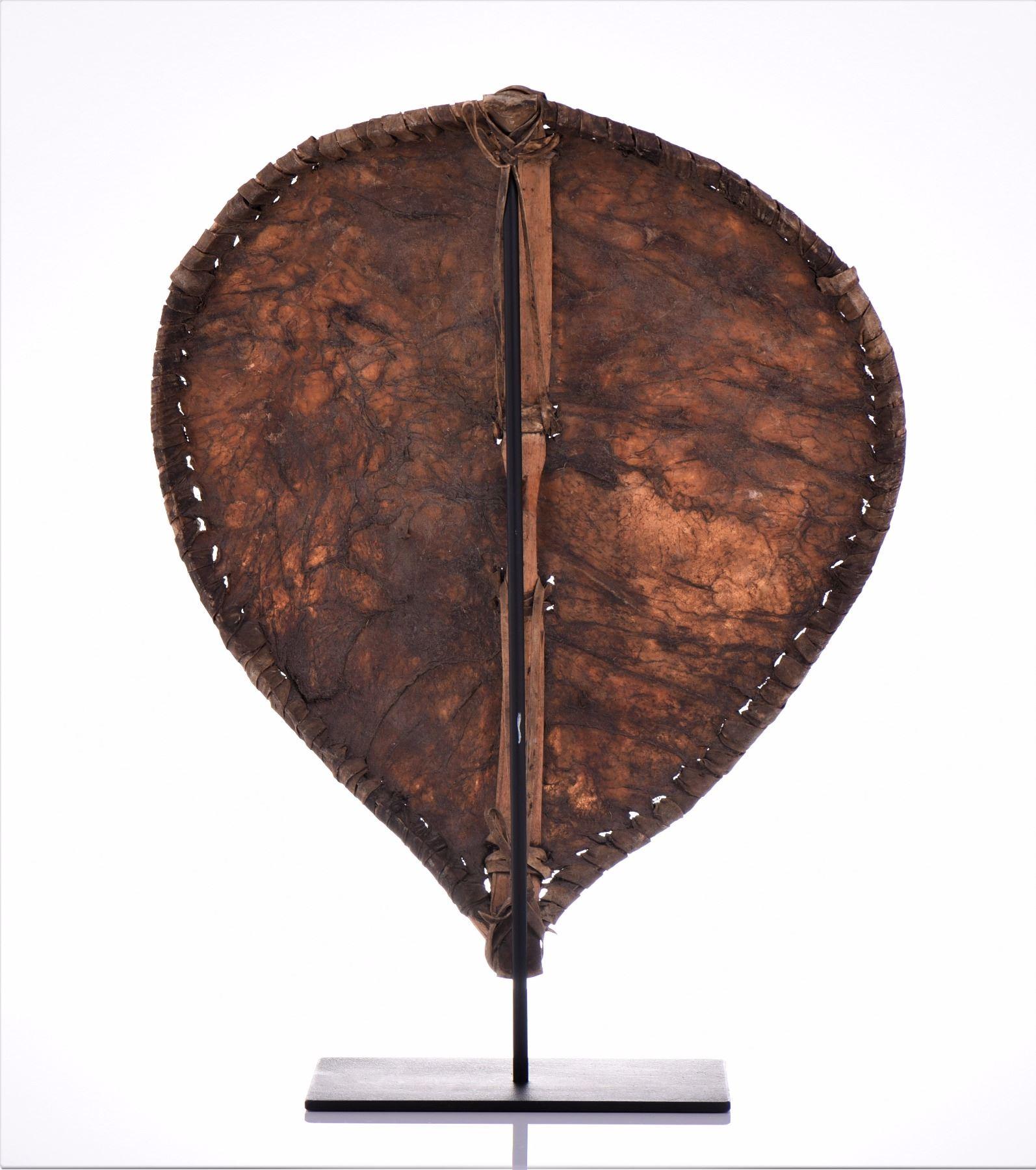 African Maasai Shield, Kenya  Made From Animal Hid