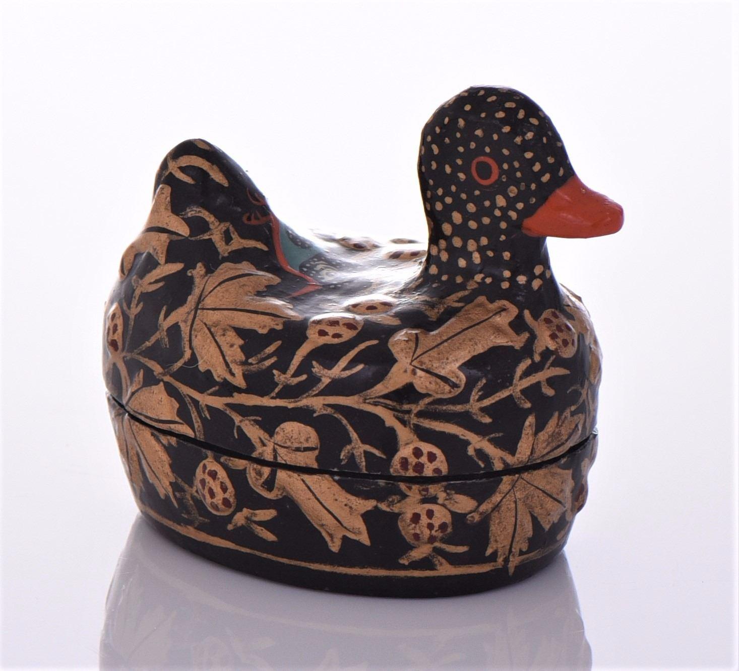 Sergio Bustamante Paper Mache Duck Sculpture | eBay | 1333x1466