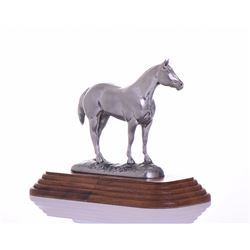 Vintage Quarter Horse Association trophy model on