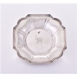 Sterling Silver nut or candy dish, stamped Sterlin