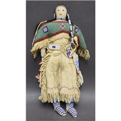 SIOUX BEADED DOLL