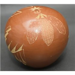JEMEZ POTTERY SEED JAR (CHINANA)