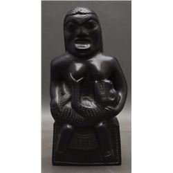 NORTH WEST COAST ARGILLITE FIGURE