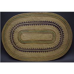 MAKAH BASKETRY PLAQUE