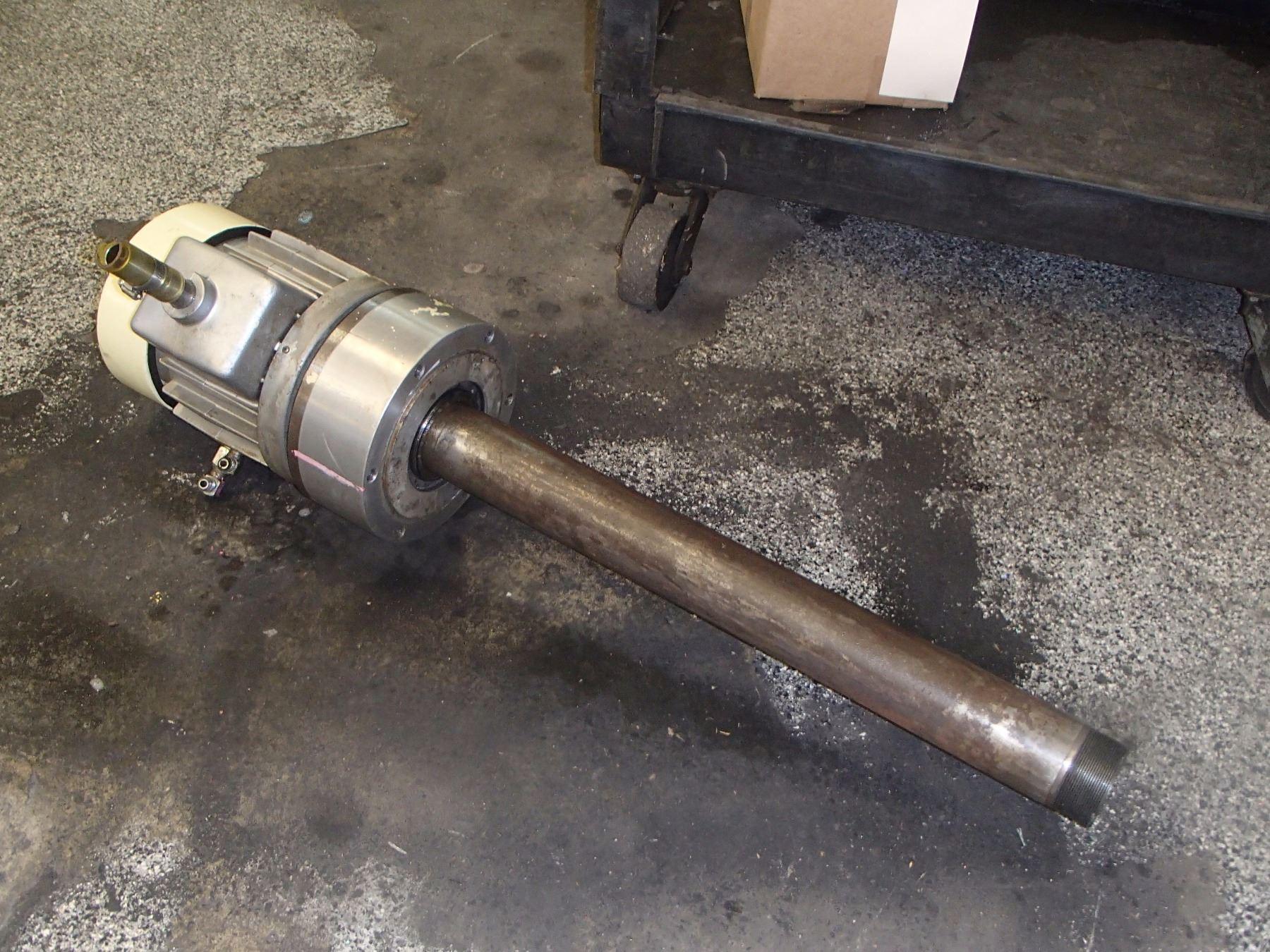 Kitagawa Hydraulic Actuator, No main Tag