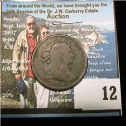 1804 U.S. Half Cent, VG-Fine.