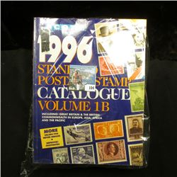 Volumes 1B,3, & 4 of Scott 1996  Standard Postage Stamp Catalogue .