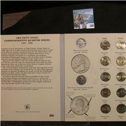 52-Coin Set of Gem BU Statehood Quarters in a Littleton Custom Coin Folder.