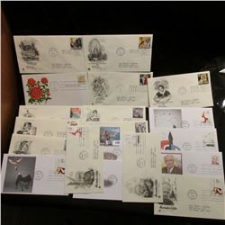 (20) Various First Day Covers dating 1978-1999.