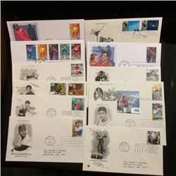 (6) Universal Studios First Day Issue Cards; & (20) Various First Day Covers.