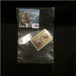 1988 RW55 U.S. Department of the Interior Migratory Bird Hunting $10.00 Stamp, original gum, unused,