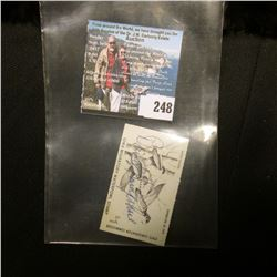 1978 No. 7 Iowa Migratory Waterfowl Stamp State Conservation Commission, signed by the original owne