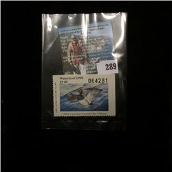 1990 No.12 Missouri Department of Conservation Waterfowl Stamp, unsigned, NH, Very Fine.