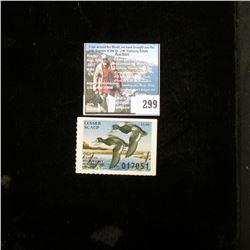 1983 Illinois Migratory Waterfowl $5 Stamp, Good, unused.