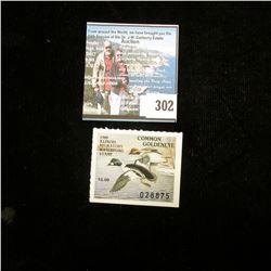 1988 Illinois Migratory Waterfowl $5 Stamp, Mint, unused.