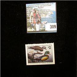 1995 South Dakota Waterfowl Restoration Stamp, Fine, Unsigned.