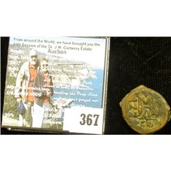 Early Byzantine 40 Nummi (Follis) ca. 491AD, Depicts Emperor and Son. The Byzantine Empire is a fasc