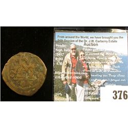 Early Byzantine 40 Nummi (Follis) ca. 491AD, The Byzantine Empire is a fascinating aspect of history