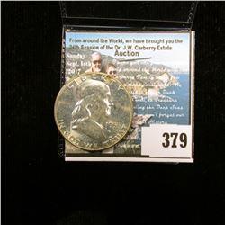 1955 P Franklin Half Dollar, Gem BU.