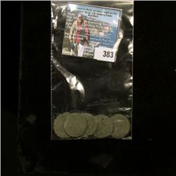 This group of four larger silver coins were originally attributed as looted Ancient Viking Coins, bu
