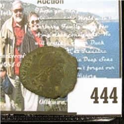 Rome bronze coin struck under Constantine the Great, 330-337 AD