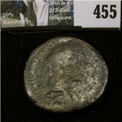 Sestertius of Emperor HADRIAN, approximately 134A.D., whom is believed to have been bisexual.